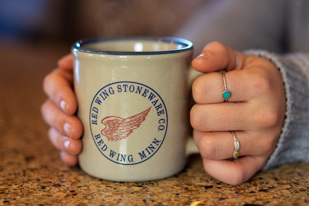 red wing mug