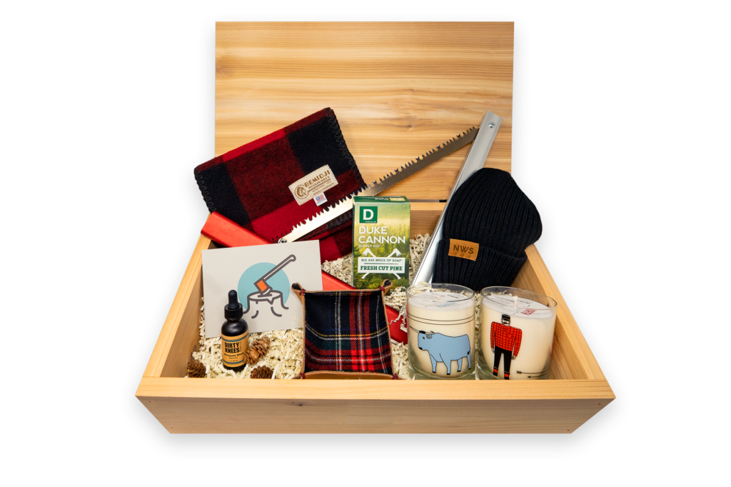 lumberjack box from minnbox