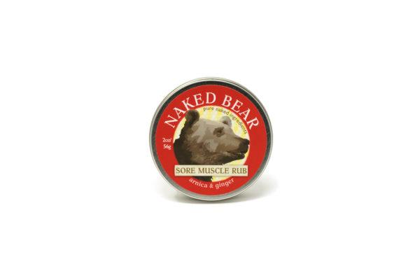 naked bear moscle rub