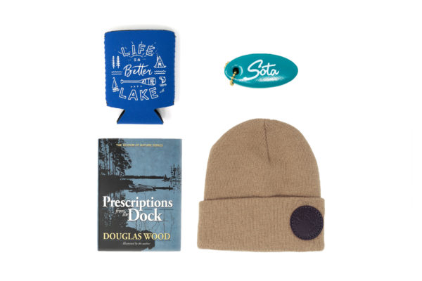 MinnBox Lake Life Minnesota Gift Box items