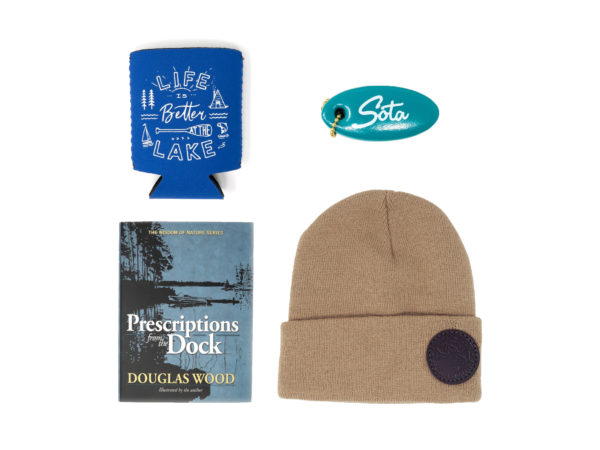 MinnBox Lake Life Minnesota Gift Box items