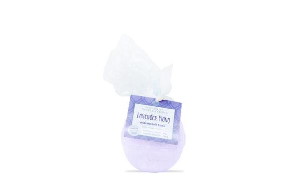 Natural Inspirations Lavender Ylang Bath Bomb