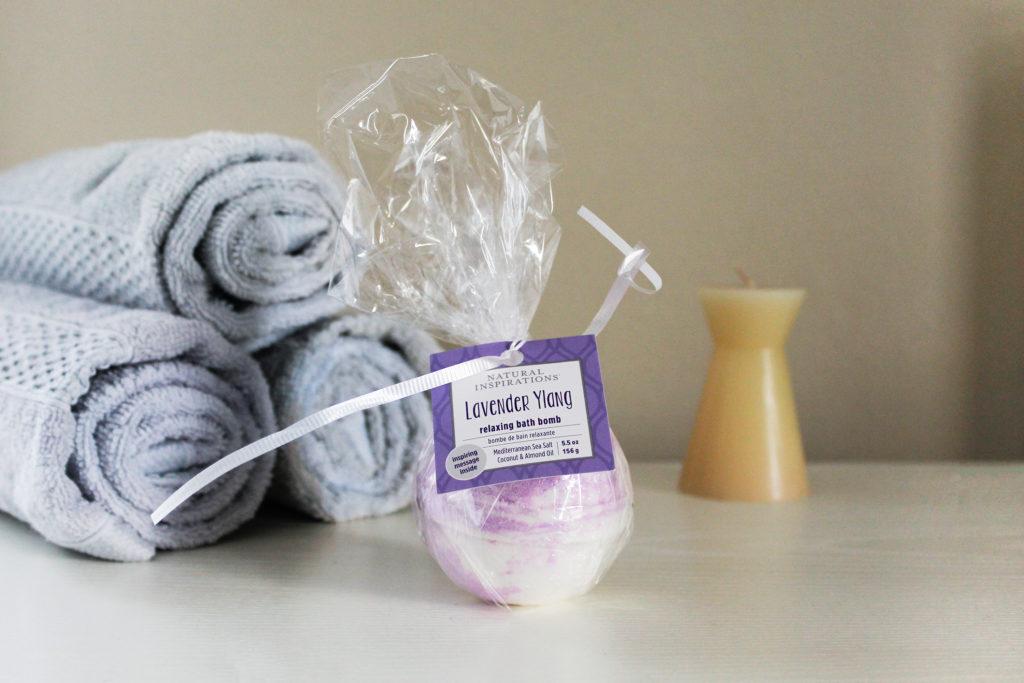 Natural Inspirations Lavender Bath Bomb