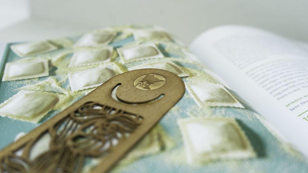 mahogany bookmark