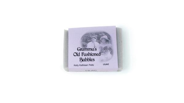 purple lilac soap