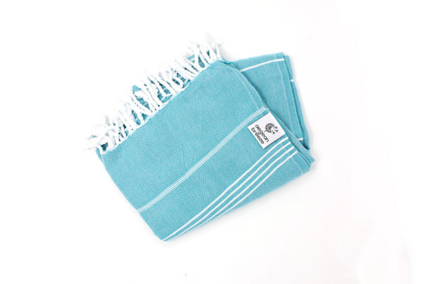coccinella turkish towel teal